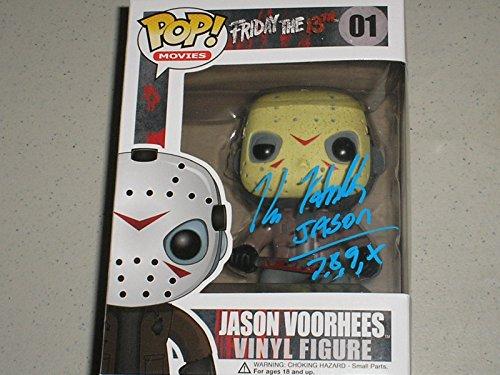 KANE HODDER Signed Funko Pop Figure Jason Voorhees Friday the 13th Autograph Jason 7,8,9,X