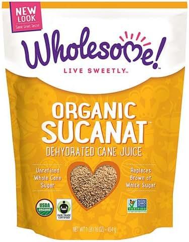 Sugar & Sweetener: Wholesome Organic Sucanat