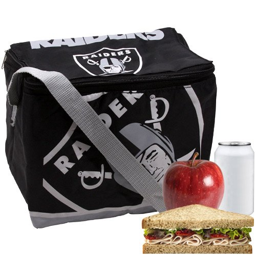 Oakland Raiders NFL Insulated Lunch Cooler (Oakland Raiders Box)
