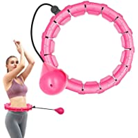 reakoo Smart Hula Hoop voor gewichtsvermindering, smart fitnessbanden die niet vallen, 24 gearticuleerde fitnessbanden…