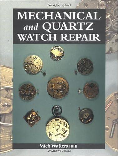 mechanical and quartz clock repair manual