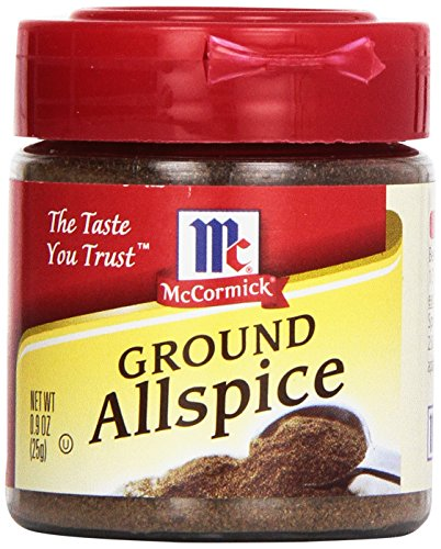 McCormick Ground Allspice, 0.9 oz (Pack of 6)