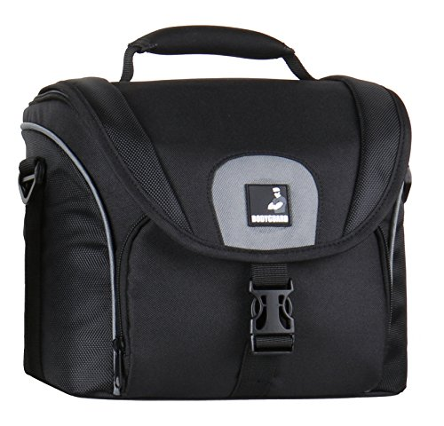 Bodyguard 5* Kamera-Tasche für D-SLR Kamera + 3-4 mittellange Objektive : Fototasche SLR Hoch für z.b. D3300 D5300 D5500 D7100 D7200 D800 Canon EOS 70D 80D 7D Mark II 1300D 750D 760D