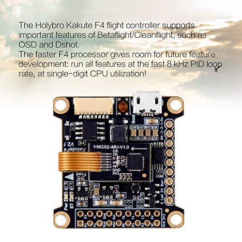 Wikiwand Holybro Kakute F4 V2 Flight Controller Betaflight OSD for RC FPV Racing Drone by Wikiwand (Image #3)