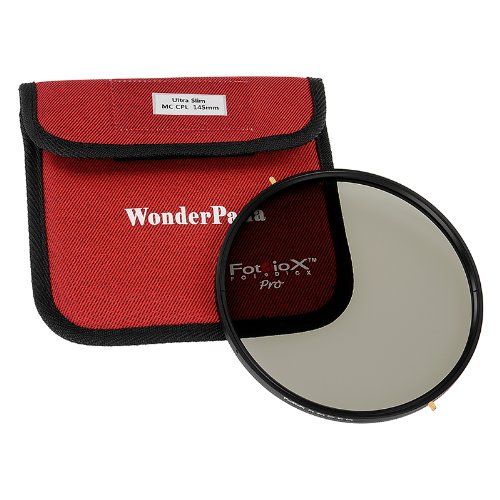 Fotodiox Pro 145mm Slim Multi-Coated Circular Polarizer (MC-CPL) Filter - Pro1 Multi-Coated CPL Filter (Works with WonderPana 145 & 66 Systems) by Fotodiox