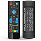 Bluetooth Remote Specifically Compatible with Amazon Fire TV and Fire TV Stick- Air Remote Control with Keyboard/Air Remote Mouse, Compatible with Android TV/Box/Windows/Raspberry pi 3-(Without Alexa