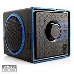 GOgroove SonaVERSE BX Portable Multimedia Stereo SpeakerPowerful SoundThe BX offers more than a dynamic design. With 2 large side-firing drivers and a 12W Peak, this portable speaker gives you a room-filling audio expereience every time. With...