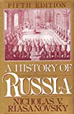 Front cover for the book A History of Russia by Nicholas V. Riasanovsky