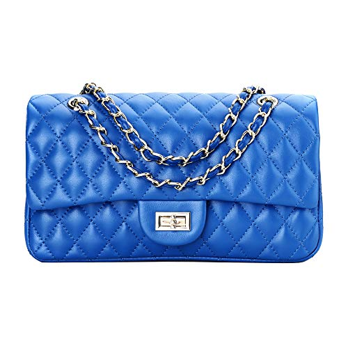 Quilted Leather Handbags - 9