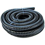 1.5in (40mm) Corrugated Black Pond Flexi-hose (by The Metre)