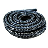 Pisces 1.5in (40mm) Corrugated Black Pond Flexi-hose (by The Metre)