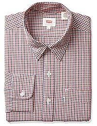 Levi's 65824-0403 Camisa para Hombre Mediano Bowstring Cloud Dancer Plaid