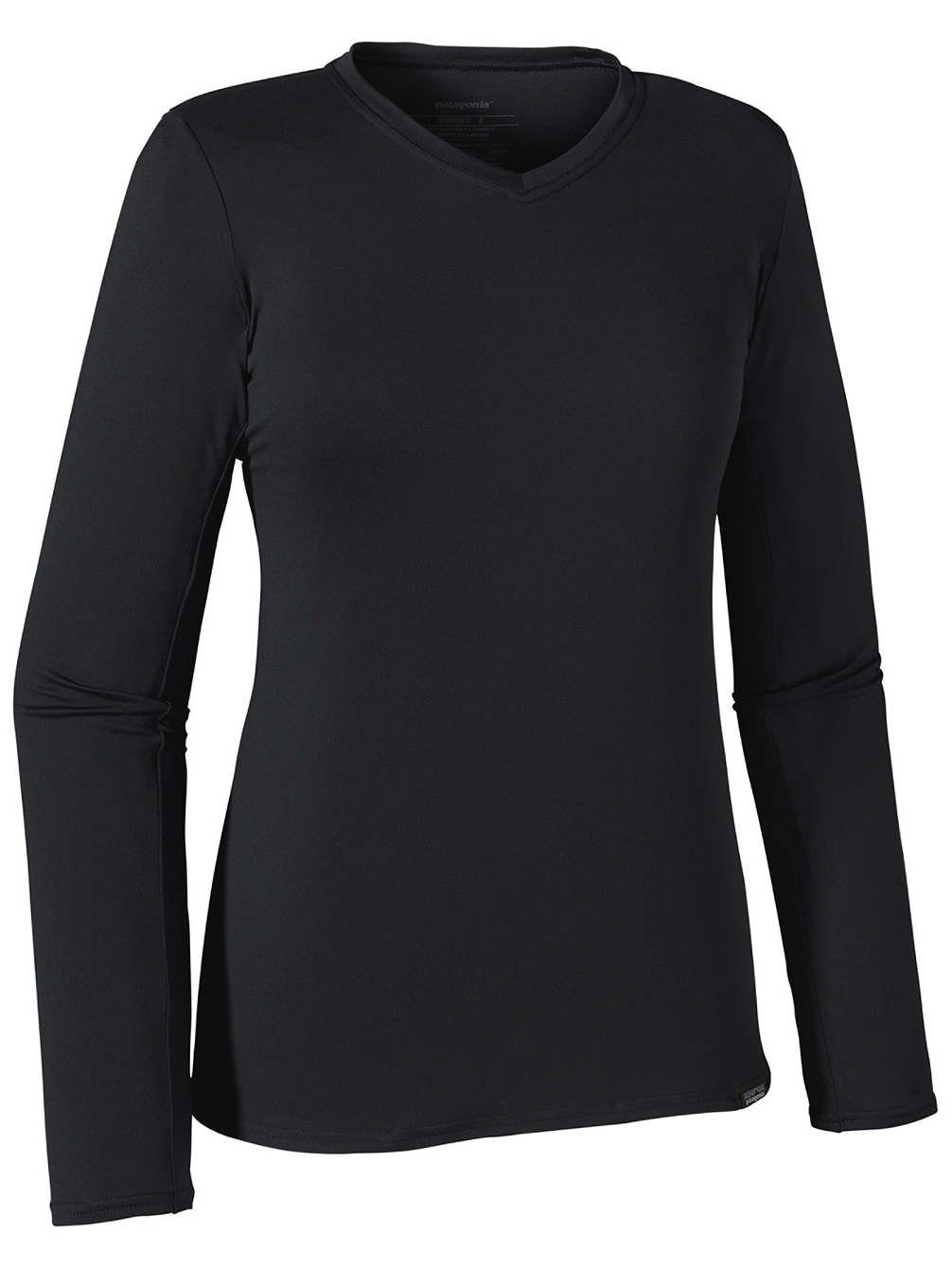 Patagonia Women's Capilene Lightweight Daily Crew Black XX-Small