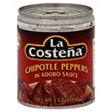 La Costena Chipotle Pepper 7 Ounce - 24 per case