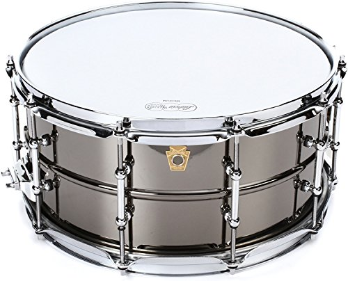 Ludwig Snare Beauty Black - Ludwig Black Beauty Snare Drum - 6.5