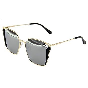 Gafas de sol @Gafas Gafas de sol UV polarizadas Mujeres Coreanas coloridas-X666 (