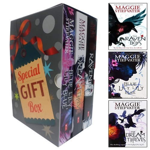 Maggie Stiefvater Raven Cycle Series Collection 3 Books Bundle Gift Wrapped Slipcase Specially For You (Raven Cycle Maggie compare prices)