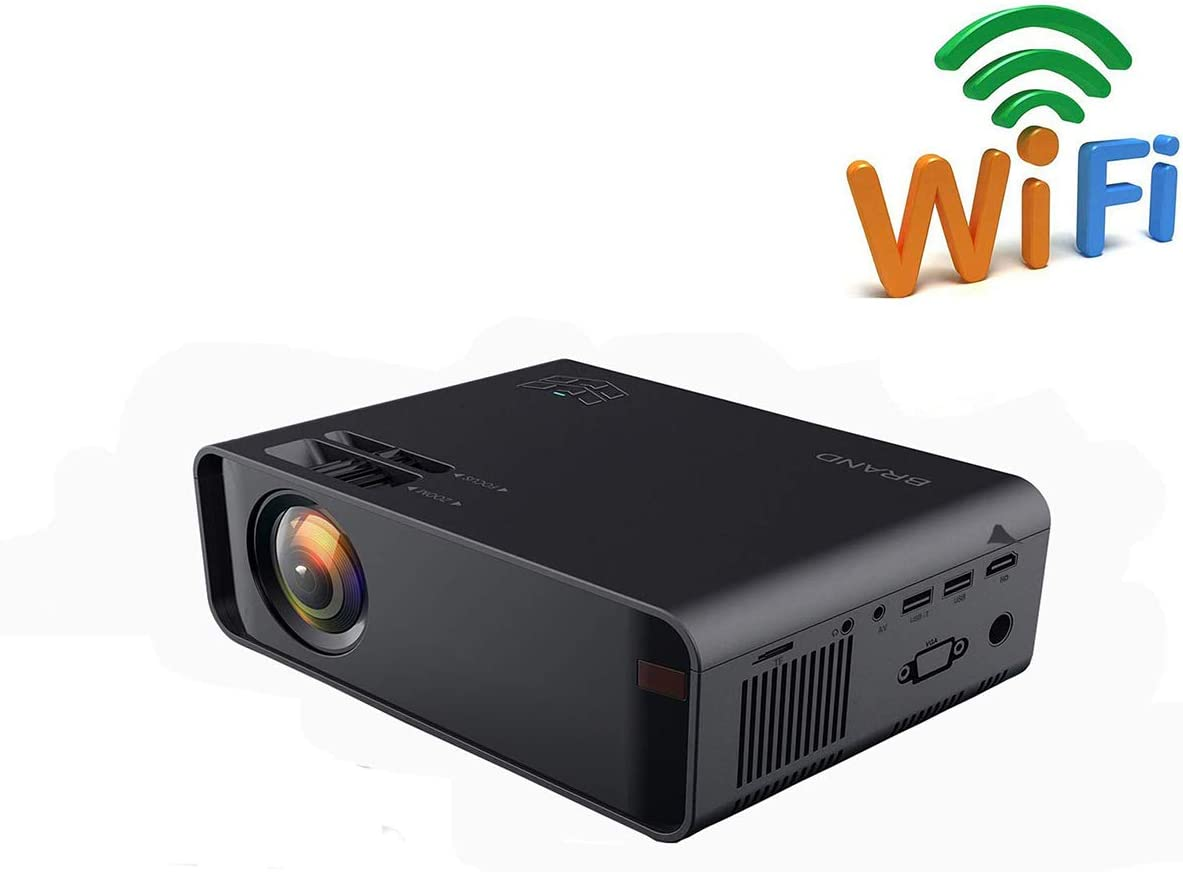 Ai LIFE Mini proyector LED Proyectores de Video WiFi 8000 lúmenes ...