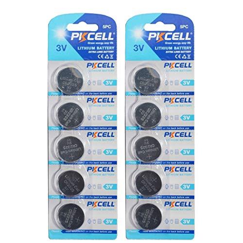 - 10 Pack CR2325 3V Lithium Batteries
