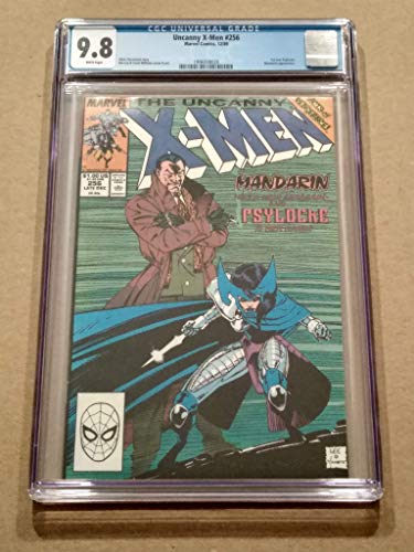 Jubilee 2016 Collectible - Uncanny X-MEN #256 Jim Lee Cover! High Grade! CGC 9.8 Modern-age Collectible Comic Book! First Jubilee appearance in Costume!