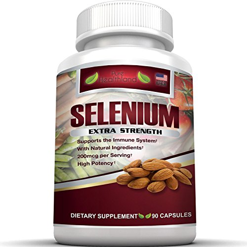 Pure Healthland Extra Strength Selenium Supplement