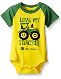 Baby Boys' Love My Tractor Bodyshirt
