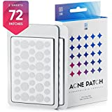 Acne Pimple Master Patch 72 dots - Absorbing Hydrocolloid Blemish Spot Skin Treatment and Care Dressing