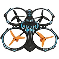 Dwi Dowellin Quadcopter Drone Aircraft 2.4Ghz 6 Axis Gyro RC Helicopter Small Blue