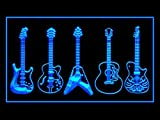 Guitar Weapons Band Music Led Light Sign