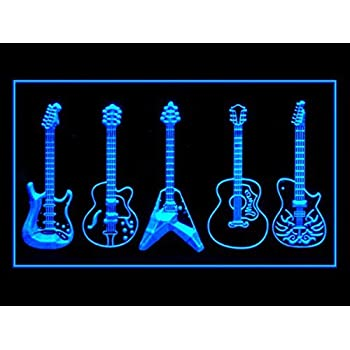 Lamazo Guitar Weapons Band Music Led Light Sign