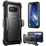 i-Blason Galaxy S8 Case, [Armorbox] [Full body] [Heavy Duty Protection ] Shock Reduction / Bumper Case WITHOUT Screen Protector for Samsung Galaxy S8 2017 Release (Black)
