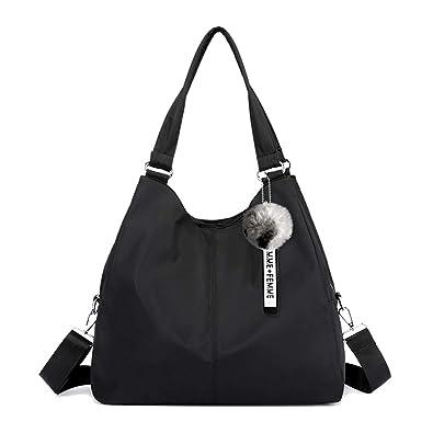 Multi-function Nylon Traveling Crossbody bag and Handbag Organzier Women  Hobo Bag Big Capacity Waterproof 8ddc185f675f8