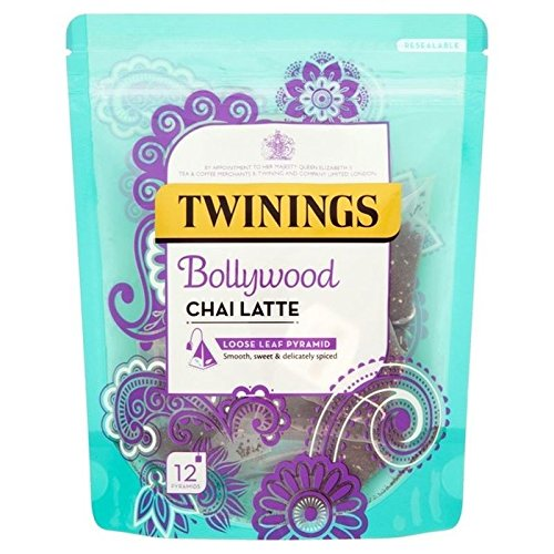 Twinings Bollywood Chai Latte 12 per pack - Pack of 6
