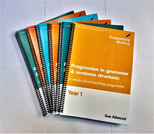 PROGRESSION IN GRAMMAR AND SENTENCE STRUCTURE - A WHOLE SCHOOL TEACHING PROGRAMME