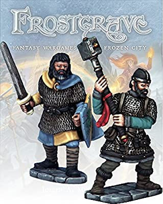 Frostgrave Knight and Templar II from North Star Military Figures