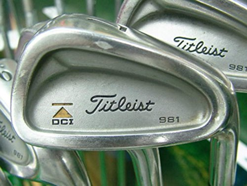 Titleist DCI 981 Iron Set 3-PW Stock Graphite Shaft Graphite Regular Right Handed 38 in (Irons Titleist Dci)