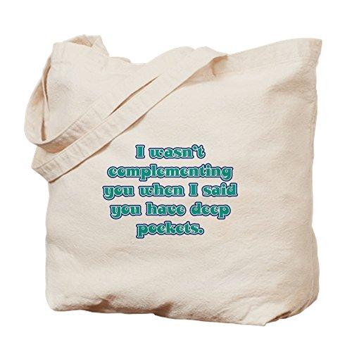 CafePress Dental Hygienist Presents Natural Canvas Tote Bag, Cloth Shopping Bag