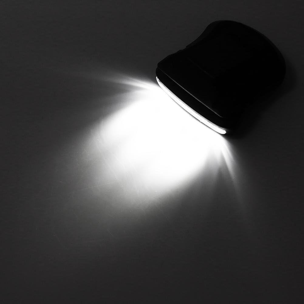 Luz de Gorra LED Negro Gorra Luz de Gorra Faro de 5 LED Gorra de /ángulo Ajustable Luz de Visera Linterna con Clip Luz de Gorra Manos Libres para Pesca al Aire Libre Camping