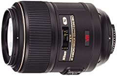 Product description NIKON 105MM F2.8G VR MICRO (2160).Compatibility: G-type lenses are fully compatible with all current camera models (as of 01/04). The older camera models F4, N90/s, N70, N8008/s, N6000 will only work in Program and Shutter...