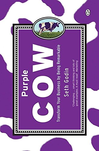 Cover of Purple Cow: Transform Your Business by Being Remarkable