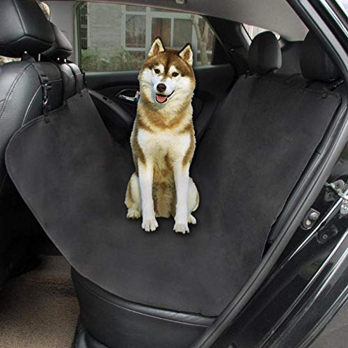 DDV-US Waterproof Pet Cat Dog Car Rear Back Seat Cover Predector Mat Auto Travel Blanket Hammock Cushion Predector 135x135cm