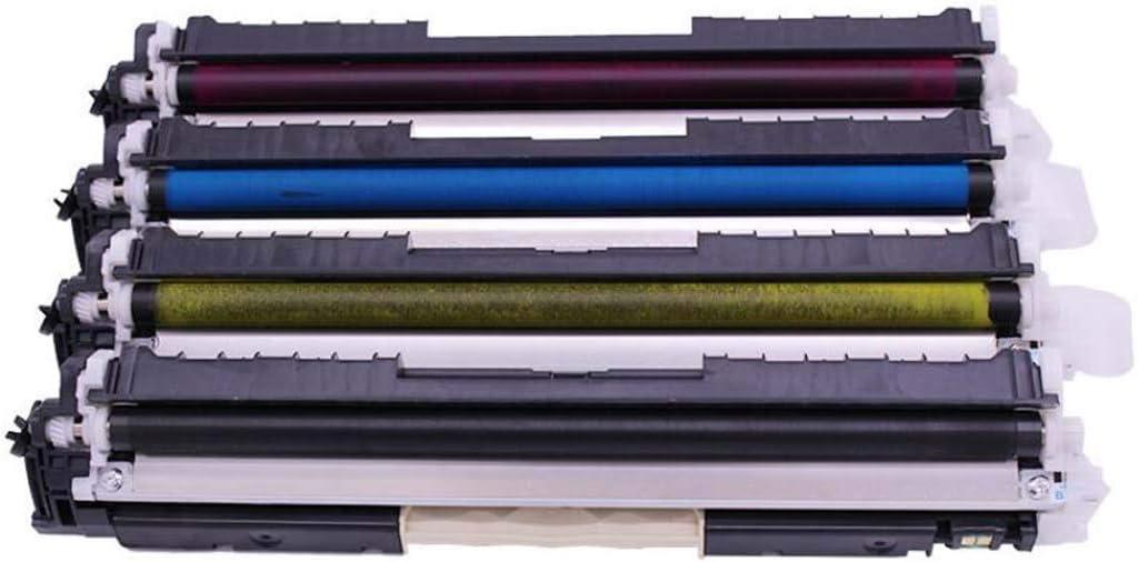 WSHZ Compatible with PLC-H130A Printer Toner Cartridge for HP Color Laser Jet Pro MFP M176n M177w Drum Rack,4colors