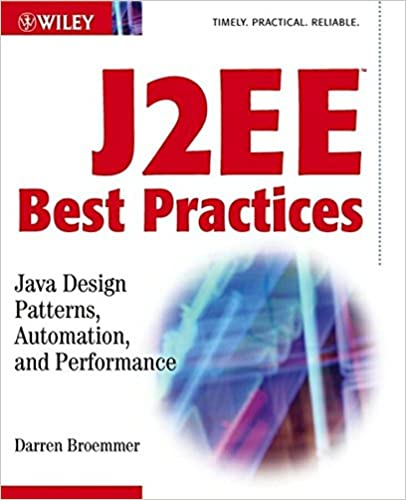 J60EE Best Practices Java Design Patterns Automation And Magnificent Best Design Patterns Book