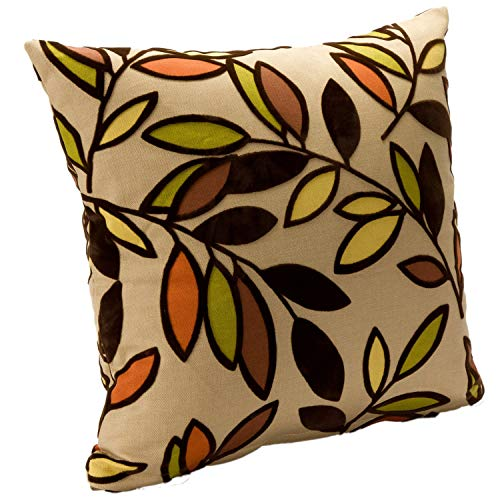 SIScovers Contemporary 'Kirby Jewel' Square Accent Pillow