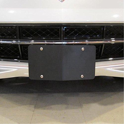 (West Coast Corvette C7 Corvette Stingray Front License Plate Bracket)