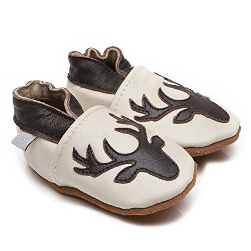 Funda de piel zapatos de bebé ciervo 4–5años
