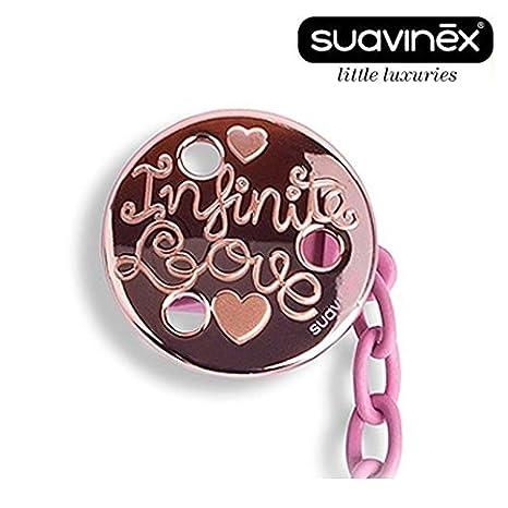 Suavinex Haute Couture - 1 x Chupete Cadenas, cinta para chupete ...