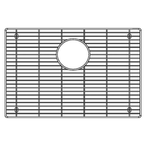 Price comparison product image Blanco 231167 Sink Grid for Attika 26-Inch Single Bowl Kitchen Sink,  Large,  Stainless Steel