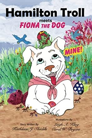 Hamilton Troll meets Fiona the Dog