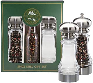 product image for Chef Specialties 7 Inch Lehigh Pepper Mill and Salt Shaker Gift Set